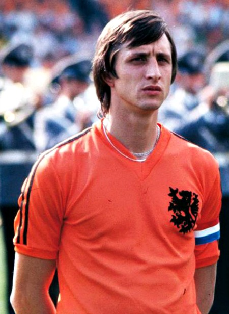 Cruyff the brand with 1974 shirt