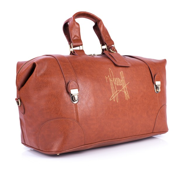 WEEKEND BAG: Cognac, more colors available