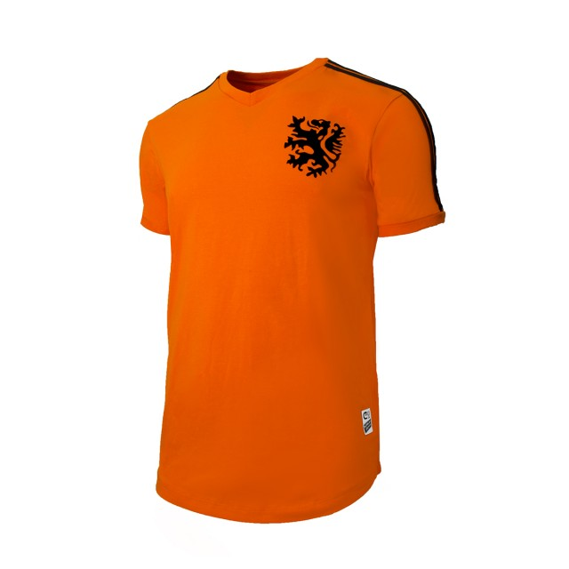 '74 World Cup T-SHIRT, ORANGE - FRONTSIDE